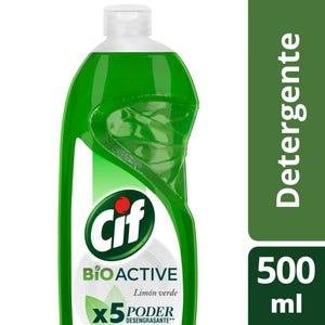 Detergente Cif Concentrado Active Gel Limón Verde 500 ml