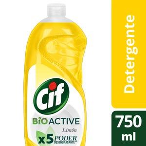 Detergente Concentrado Cif Active Gel Limón 750 ml