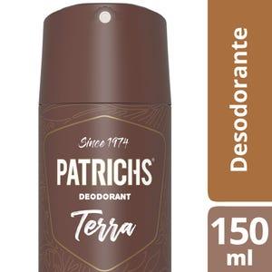 Desodorante Patrichs Terra en Aerosol 150 ml