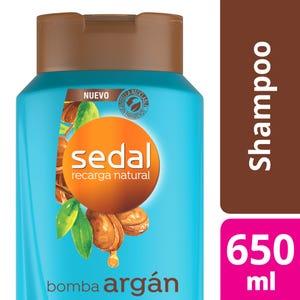 Shampoo Sedal Bomba Argán 650 ml