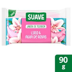 Jabón en Barra Suave Lirio y Agua de Rosas 90 gr