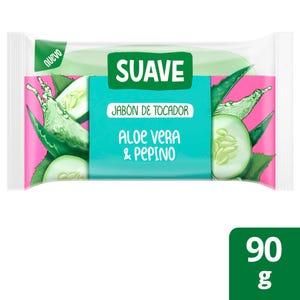 Jabón en Barra Suave Aloe Vera y Pepino 90 gr
