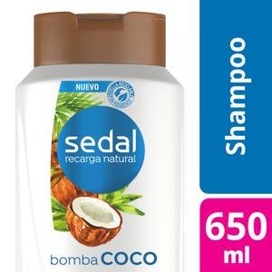 Shampoo Sedal Bomba Coco 650 ml