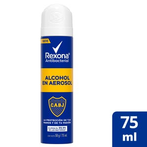 Alcohol en Aerosol Rexona Antibacterial Boca 75 ml