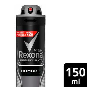 Desodorante Antitranspirante Rexona Hombre en Aerosol 150 ml