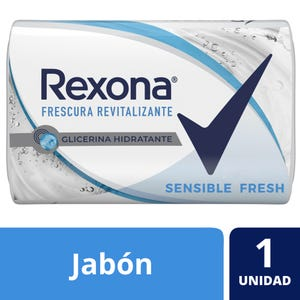 Jabón en Barra Rexona Sensible Fresh 125 gr