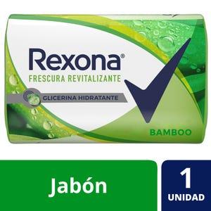Jabón en Barra Rexona Bamboo 125 gr