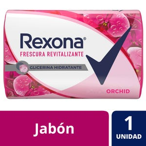 Jabón en Barra Rexona Orchid Fresh 125 gr