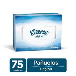 Caja de Pañuelos descartables Kleenex 75 unidades