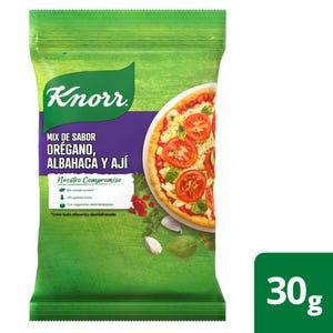 Saborizador en Sobres Knorr Orégano y Albahaca 4 un