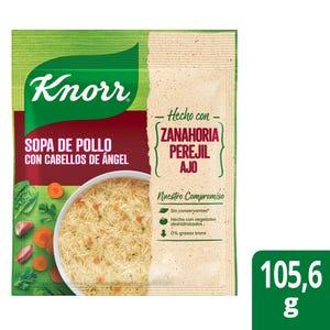 Sopa Knorr Familiar Pollo con Cabello de Ángel 105 gr