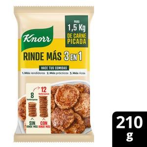 Premezcla para Carne Picada Knorr Rinde Más 3 en 1 210 gr