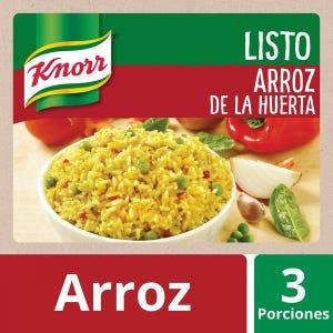 Arroz listo de la huerta Knorr 197 gr