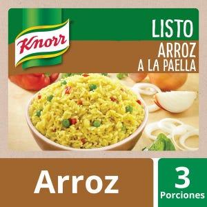 Arroz listo a la paella Knorr 185 gr