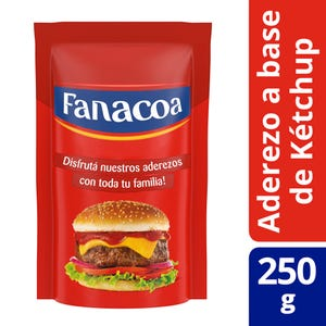 Ketchup Fanacoa Regular Doypack 250 gr