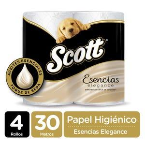 Papel Higiénico Scott Esencias 30 mt 4 un