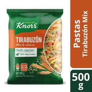 Fideos Knorr Tirabuzón con Vegetales 500 gr