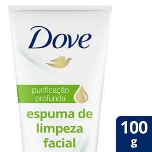 Limpiador Facial Dove Purificación Profunda 100 gr