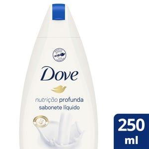 Jabón Líquido Corporal Dove Nutrición Profunda 250 ml