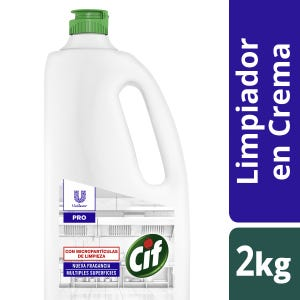 Limpiador cremoso Cif desinfectante multiusos 2 kg