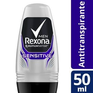 Desodorante Antitranspirante Rexona Sensitive en Bolilla 50 ml