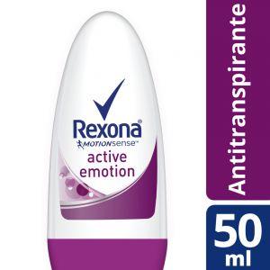 Desodorante Antitranspirante Rexona Active Emotion en Bolilla 50 ml