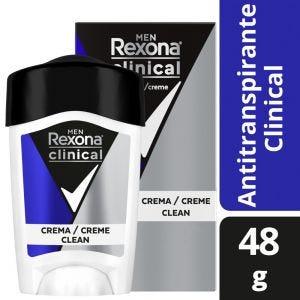 Desodorante Antitranspirante Rexona Clinical en crema 48 gr