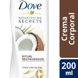 Crema Corporal Dove Nourishing Secrets Coco y Almendras 200 ml