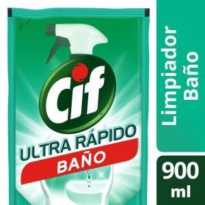Limpiador Cif Líquido Baño Recarga 900 ml