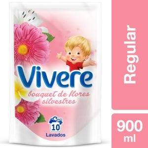 Suavizante Regular Vivere Bouquet de Flores Silvestres Doypack 900 ml