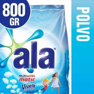 Jabón en Polvo Ala Matic Toque de Vívere 800 gr