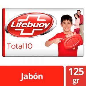Jabón en barra Lifebuoy Antibacterial Total 10 125 gr