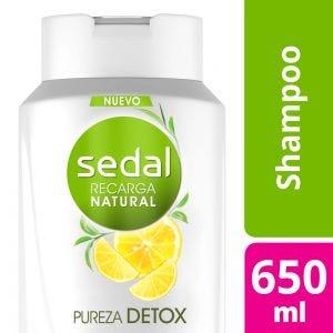 Shampoo Sedal Pureza Detox 650 ml