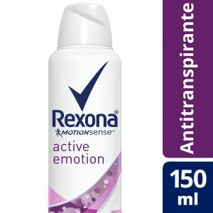 Desodorante Antitranspirante Rexona Active Emotion Mujer en Aerosol 150 ml