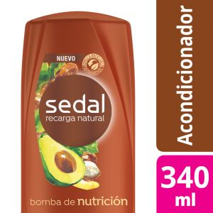 Acondicionador Sedal Bomba de Nutrición 340 ml