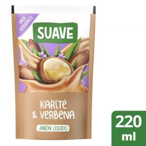 Jabón Líquido Suave Karité & Verbena 220 ml