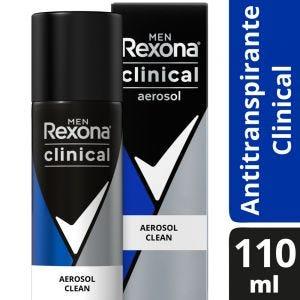 Antitranspirante Rexona Clinical en aerosol 110 ml