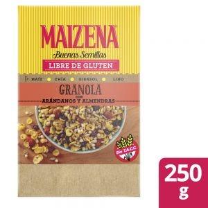Granola Maizena Arándanos y Almendras 250 gr