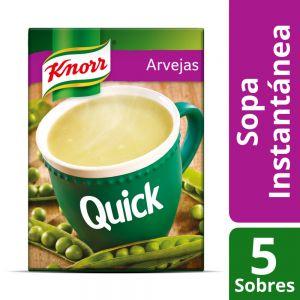 Sopa Knorr Quick Arvejas 5 Sobres