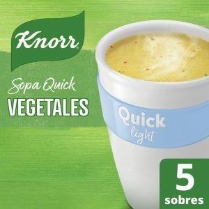 Sopa Knorr Quick Vegetales Light 5 Sobres