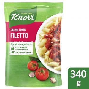 Salsa Lista Knorr Filetto 340 gr