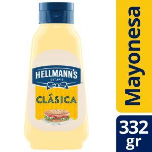 Mayonesa Clásica Hellmann's Botella 332 gr