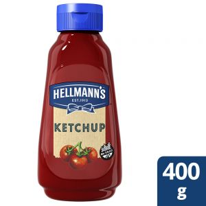 Ketchup Clasico Hellmann's Botella 400 gr
