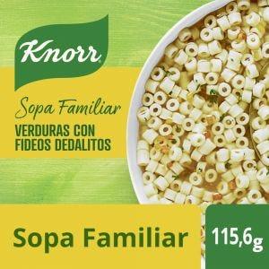 Sopa Knorr Vegetales con Fideos Dedalitos 105 gr
