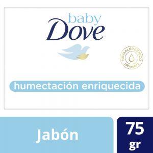 Jabón en Barra Baby Dove Humectación Enriquecida 75 gr