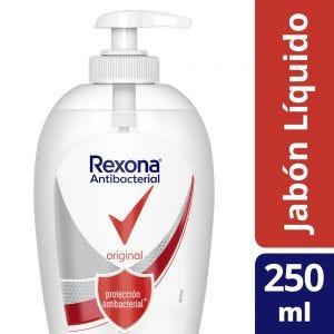 Jabón Líquido Rexona Antibacterial Original 250 ml