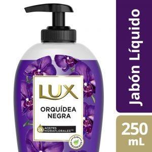 Jabón Liquido Lux Orquídea Negra 250 ml