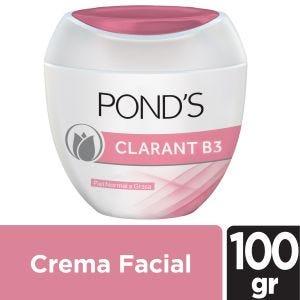 Crema Humectante Facial Ponds Clarant B3 100 gr