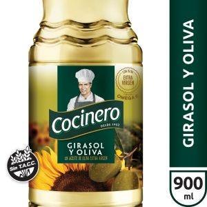 Aceite Cocinero Oliva & Girasol 900ml