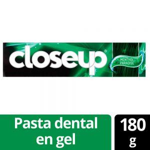 Pasta Dental Close Up Acción Profunda Menthol Paradise 180 gr